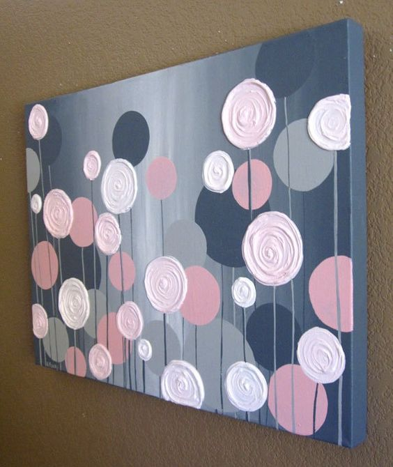 nice Easy Canvas Painting Ideas Part - 11: 12 Canvas Painting Ideas You Can Easily DIY