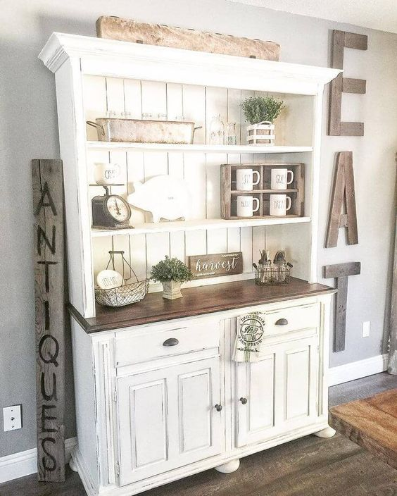 Diy hutch ideas for your home decor diy ideas - Inspired diy ideas small kitchen ...