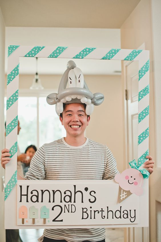 Make A DIY Photo Booth Frame Easily - DIY Ideas