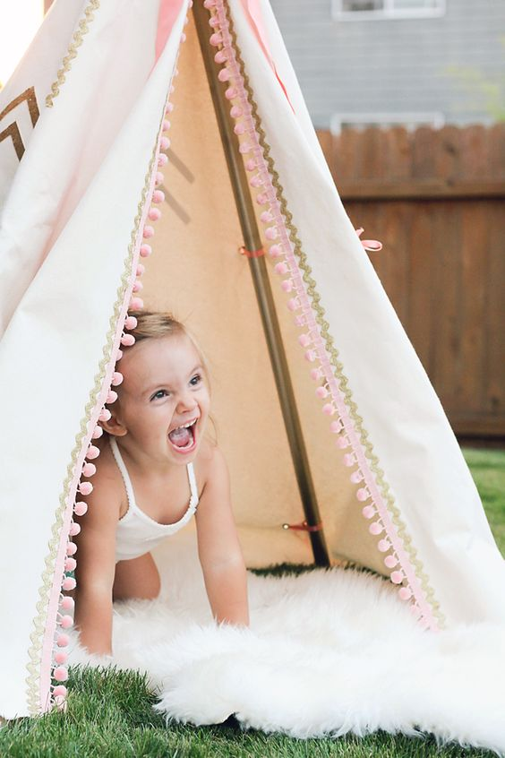 Inspiration To Make DIY TeePee